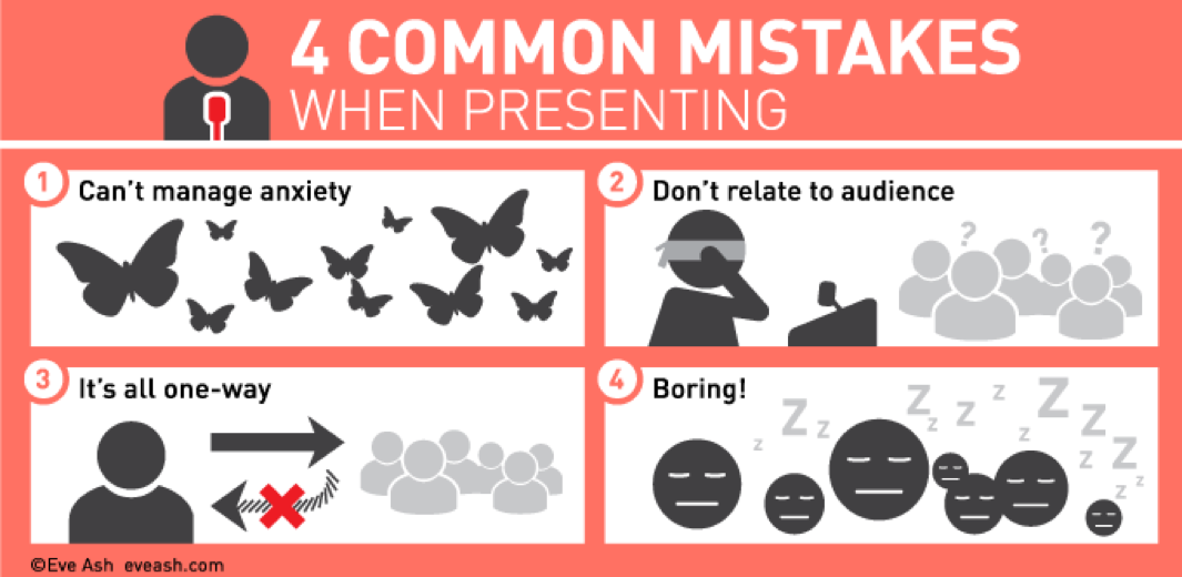 4 Common Mistakes When Presenting