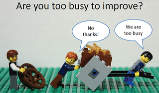 Too busy to improve - time for feedback