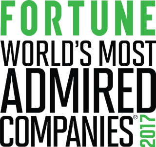World's Most Admired Companies 2017
