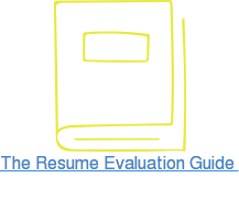 The Resume Evaluation Guide